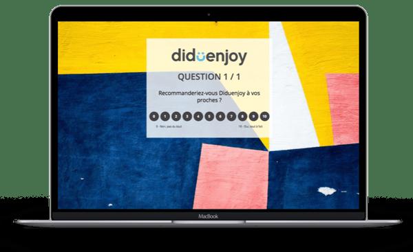Mac questionnaire Diduenjoy NPS