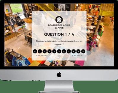 questionnaire net promoter score quiksilver email