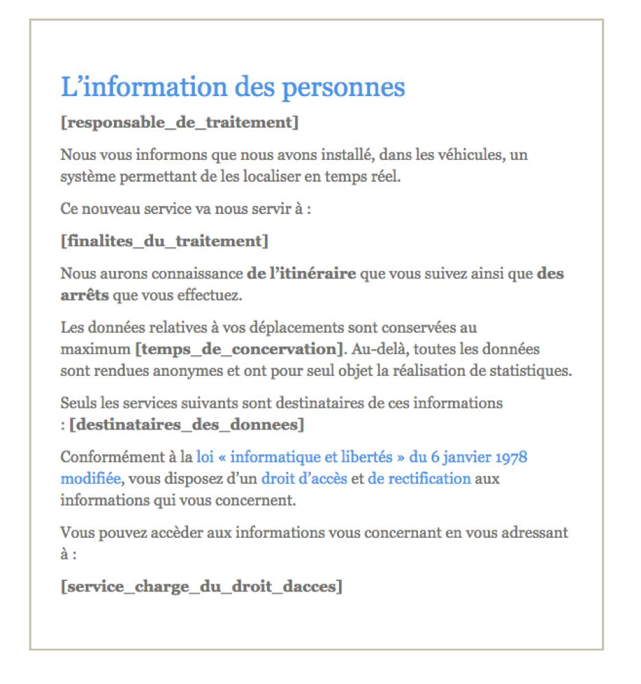 notice information cnil